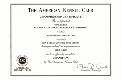 CH-Red-Rock-Canyons-Logan-Rocks_AKC-CHAMPION-Certificate_WS54986603
