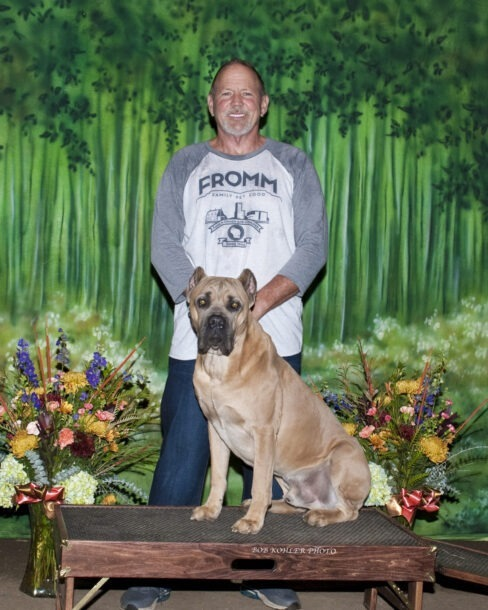 Cane Corso Max and Curt Gebers